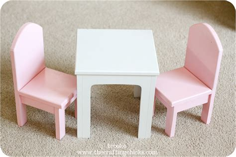 18 Inch Doll Table And Chairs by 18 Inch Doll Table And Chairs Plans Free Pdf