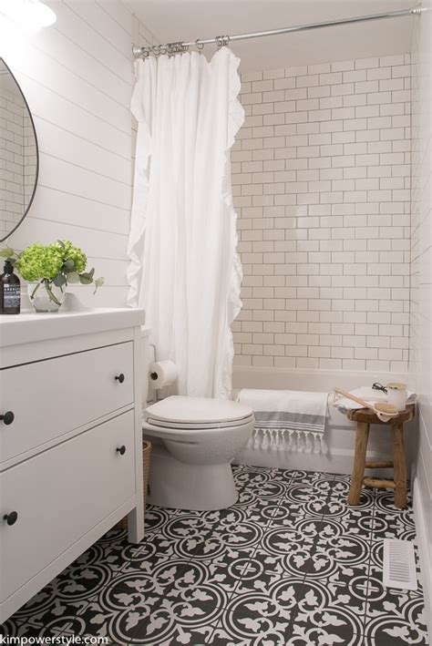 one room challenge modern farmhouse bathroom the