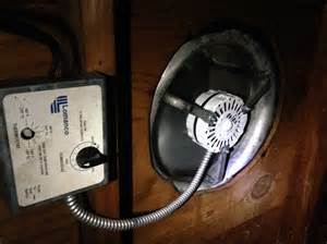 fix a squeaking or noisy attic vent fan or whirly bird by replacing the motor fixyoursh1t