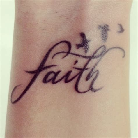 faith wrist tattoos gallery faith tattoos designs ideas page 18