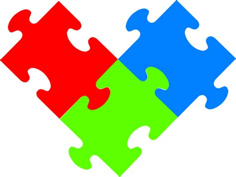 3 puzzle pieces template 3 puzzple pieces clip at clker vector clip