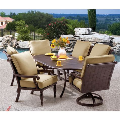 patio dining sets costco style pixelmari in piece dini and
