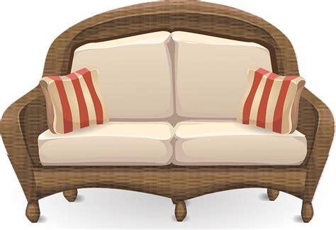 free vector graphic loveseat sofa furniture