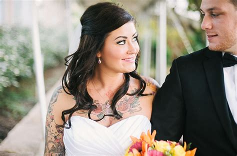 tattooed bride tattooed brides mike allebach resource