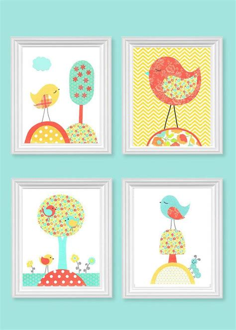 Bird Decor For Nursery Best 25 Yellow Birds Ideas On Yellow Bird Image Pretty Birds And Colorful Birds