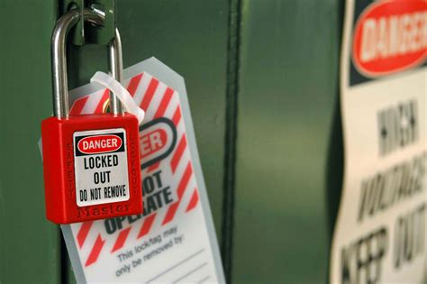 about lockout tagout loto master