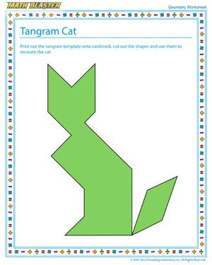 printable tangram activity sheets printable tangrams clipart best