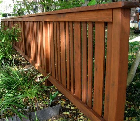 woodworking fence cedar fence styles woodworking projects plans