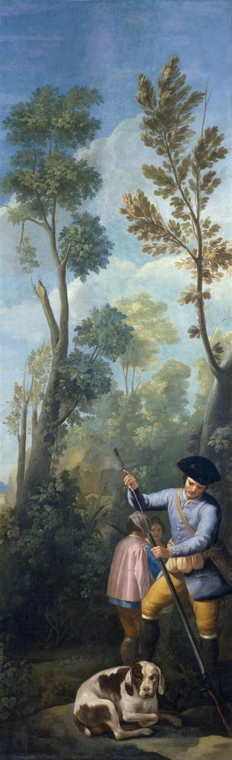 cuadros de goya en el prado goya en el prado cazador cargando su escopeta museo del