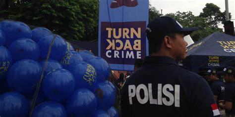 Seragam Turn Back Crime Kapolri Atribut Quot Turn Back Crime Quot Bukan Seragam Resmi