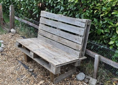Pics For Gt Pallet Patio Bench Wooden Pallet Outdoor Furniture