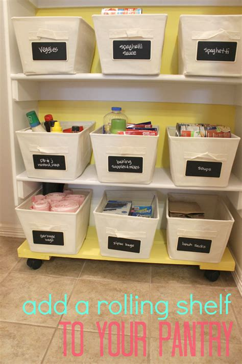 snap crafts how to add a rolling shelf to your
