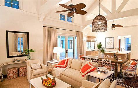 tropical living rooms make a splash with tropical interior design