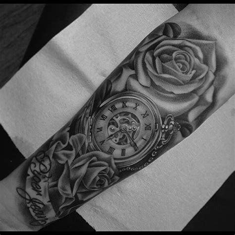 badass rose tattoos badass by pg tattoo tattoos tattooart tattoolife