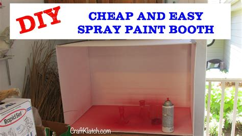 spray paint booth how to make a spray paint booth crafts paint garage walls