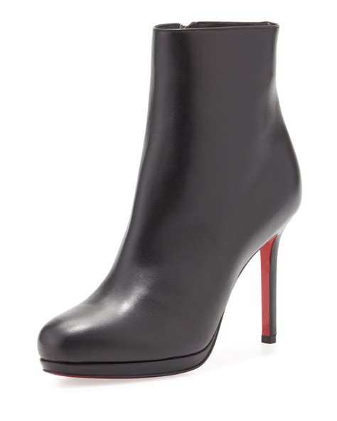 Christian Louboutin Ankle Boot by Christian Louboutin Bootylili Leather Sole Ankle Boot