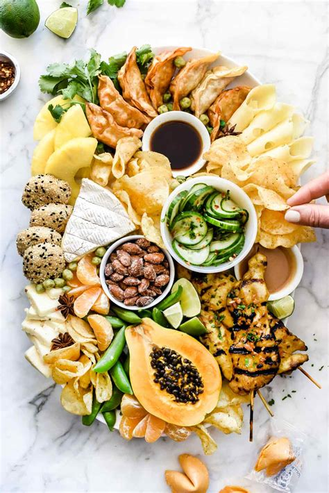 asian inspired cheese board foodiecrushcom