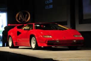 Lamborghini Countach Lp5000 Qv 1985 1988 Lamborghini Countach Lp5000 Qv Lamborghini