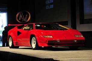 1988 Lamborghini Countach 1985 1988 Lamborghini Countach Lp5000 Qv Lamborghini