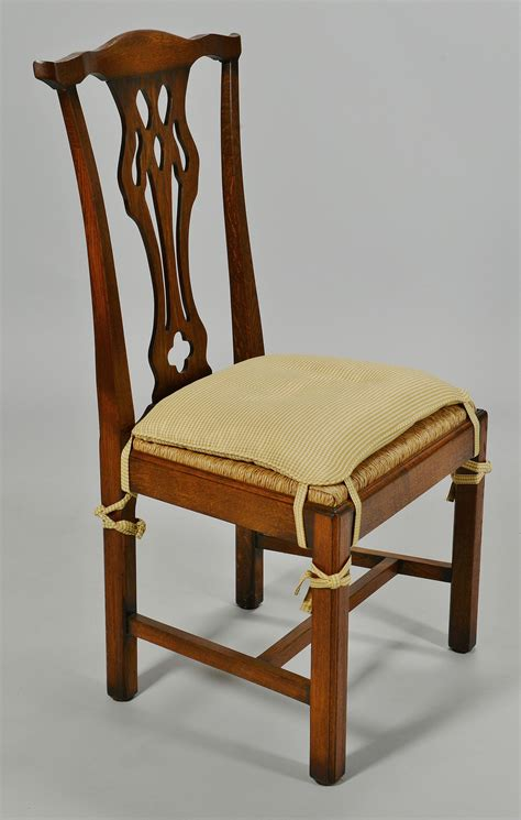 Chippendale Style Dining Chairs Set Of 12 Chippendale Style Oak Dining Chairs