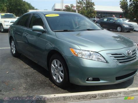 2008 Toyota Camry Xle 2008 Toyota Camry Xle V6 In Aloe Green Metallic 565667