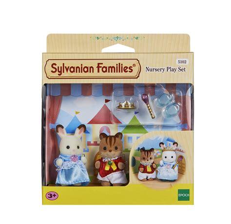 Set Familly 2 sylvanian families nursery play set ebay