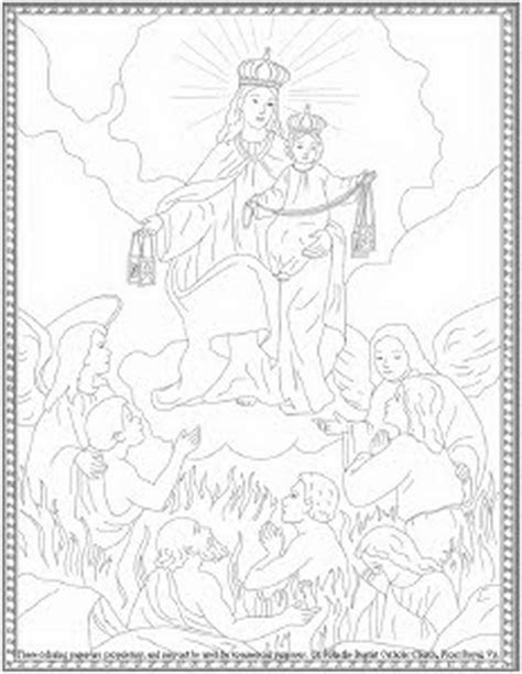 our lady of lourdes coloring page coloring pages