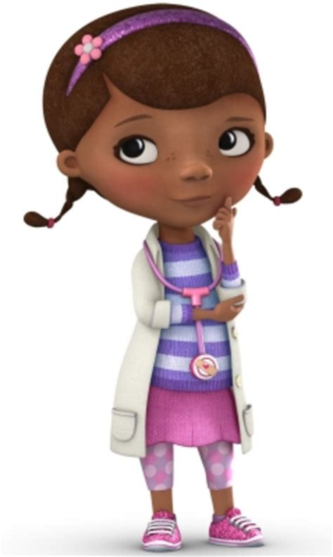 Doc Mcstuffins by Dockeyposes Thinking C Free Images At Clker Vector