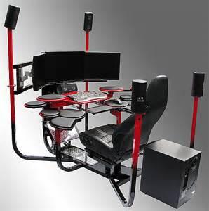 computer stuhl vision ones computer cockpit v1 l 228 sst tisch und stuhl alt