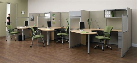 modern furniture office cubicles vs modular workstations