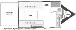 Universal Design Kitchen Cabinets toy hauler floorplans custom and standard models from