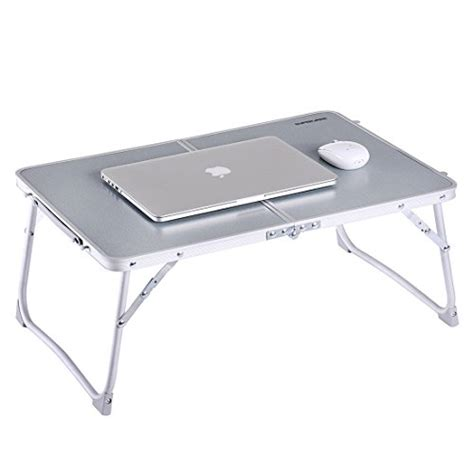 laptop tray for bed superjare 23 2 portable breakfast table bed tray laptop