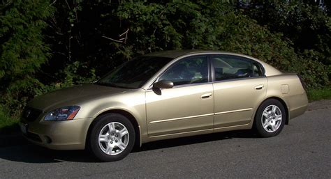 file 2002 nissan altima 2 5s exterior drivers side view jpg wikimedia commons