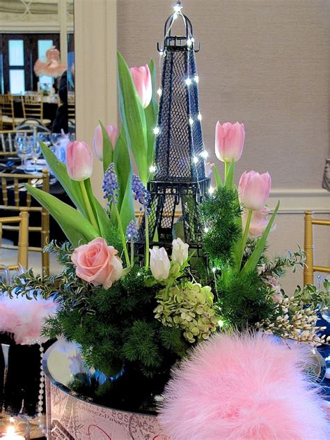 themed events for april april in paris centerpieces for a spring party sprays