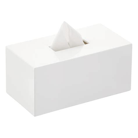 Home Decoration Items Online by Lacquer Rectangular Tissue Box Cover The Container Store