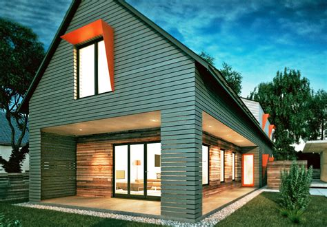 modern two storey house with streamline roof modern two storey house with streamline roof blog