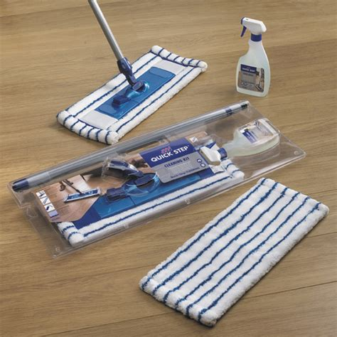 quickstep heavy duty microfibre mop cloths cleaning laminate flooring