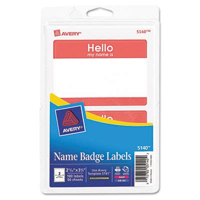 printable adhesive name tags printer