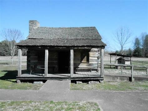 Davy Crockett State Park Cabin Rentals memorial commerating site of birth picture of david crockett birthplace state park limestone