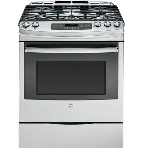 slide in range jgss05dembb ge 30 slide in gas range ge appliances ask home design
