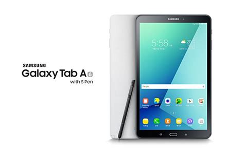 Samsung Tab A6 Terbaru samsung launches galaxy tab a 2016 with s pen gsmarena news