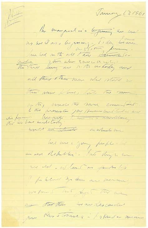 F Kennedy Inaugural Speech Essay by Our Documents President F Kennedy S Inaugural Address 1961
