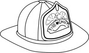 Firefighter Helmet Outline by Fireman Hat Clipart Image Fireman Hat Coloring Page Clipart Best Clipart Best