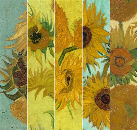 5 Paintings By Gogh gogh s iconic sunflowers will be reunited for the