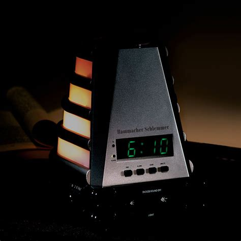 alarm clock that wakes you up with light ambient light alarm clock
