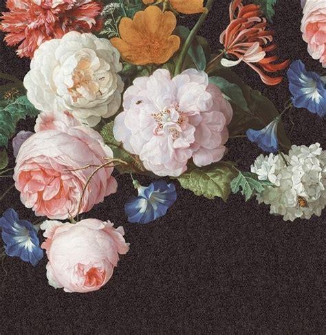 Floral Wall Stickers eijffinger masterpiece black crackle 358113