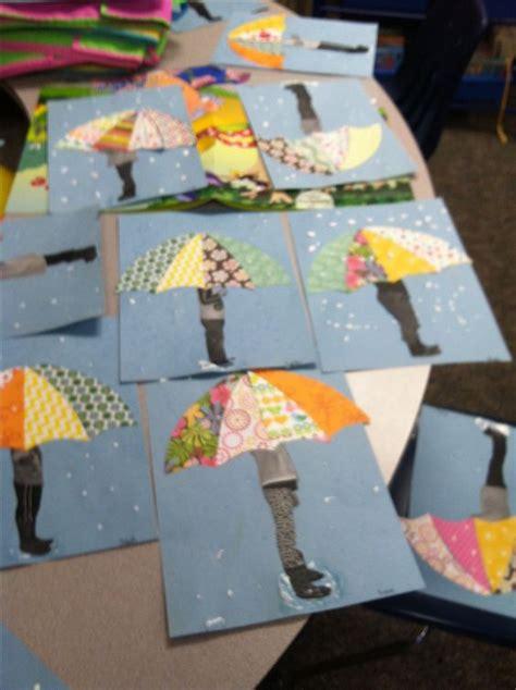 april crafts for umbrella april showers creatief met