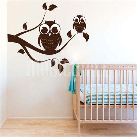 Wall Decals Owl Branch Nursery Wall Stickers Canada Nursery Wall Decals Canada