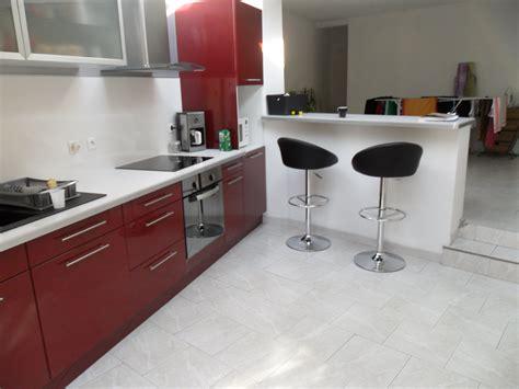 Impressionnant Cuisines Pas Cher Ikea #7: Cuisine-Rouge-Moderne-201106142004352o.jpg
