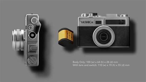 Bateri Kamera Olympus Kamera Yashica Y35 Dilancarkan Dengan Katrij Digifilm Untuk Menghasilkan Kesan Khas Pada Gambar